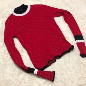Zara knit turtleneck S